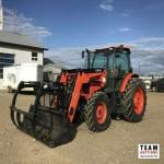 2012 Kubota M135GX MFWD Loader Tractor