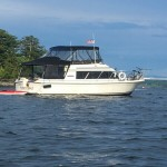 CARVER MARINER 84 FLYING BRIDGE $19.500
