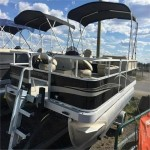 SALE!!! 2018 MONTEGO BAY F8516 FISH + 25 HP!