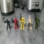 Wanted: Star trek mega bloks figures has halo mega bloks figure lot #2