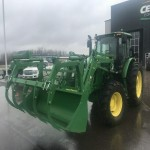 John Deere 6135E Tractor with loader