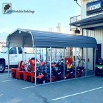 Portable Metal Carport- Cover your Equipment