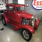 Pending: 1931 Ford Model A Steel Body Five Window Coupe Hot Rod