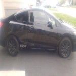 2013 Honda Civic coupe ex manual low mil
