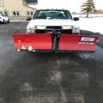 Ford F-250 Pick up Truck with Snow removal