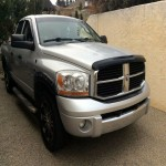 Silver Dodge 1500- low km, well taken care of! $11,999