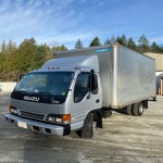 2001 ISUZU NPR 16 FT. CUBE VAN WITH RAMP $14,700.00