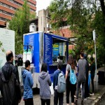 Food Trailer Permit for Downtown Van with Trailer For Sale