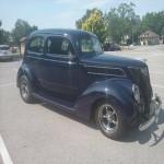 1937 Ford 2 door slantback sedan