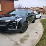 Cadillac XT5 with $8500 cash incentive