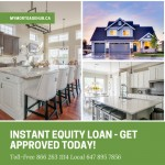 Instant Equity Loan - No Appraisal or Legal Fees
