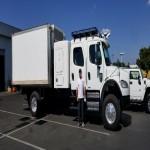Freightliner 4x4 crew cab - automatic trans - sleeper - 12' Box