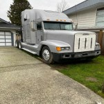 2003 FREIGHTLINER FLD WITH CAT 6NZ C15, SINGLE TURBO