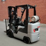 Nissan forklift 5000 lbs propane in excellent condition