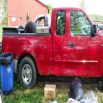 2002 F150XL Red pick up Truck