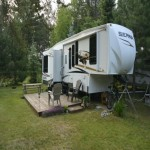 Gorgeous 2011 Forest River Sierra 300RL fifth-wheel for sale!