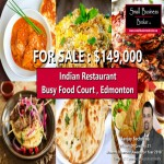 Indian Restaurant For Sale In Food Court