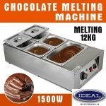 2kg Electric Chocolate Tempering Machine Melter Maker W/5 Melting Pot Dining - FREE SHIPPING