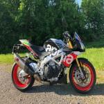 Moto Aprilia Tuono Factory 2018