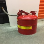Gas Can - Justrite safety can type II