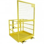 Forklift Safety Work Platform, Steel Safety Cage for Most Standard Forklifts - BRAND NEW - FREE SHIPPING