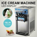 3 FLAVOR SOFT SERVE MACHINE WITH TWIST - ICE CREAM- YOGURT- FREE SHIPPING