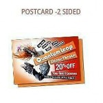 Postcards Cheap Pricing Great Quality 2 Sided - 4 x 6 - $49.65 For 1000
