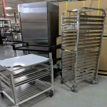 BRAND NEW Steam Pan Racks / Baking Racks and Utility Carts And Trolleys -- GREAT DEALS!!!