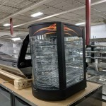 BRAND NEW Electric Glass Display Pizza/Food Warmers-- Display and Warming Equipment