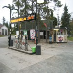 Gas station in Cochrane,Northern Ontario