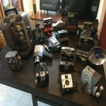 huge antique camera collection