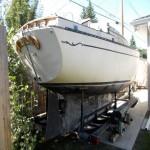 Bayfield 25 sailboat