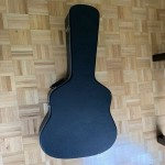Acoustic guitar hard shell case