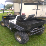 yahama golf cart AWD gas