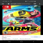 Trade only- Arms Nintendo Switch