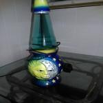 Icon series ii celestial sun/ moon lava lamp. Mint condition.