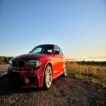 2011 BMW 1M in Valencia Orange (Very rare!)