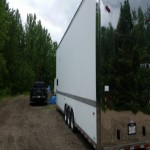 34' Haulmark Edge Lift Gate Race Trailer