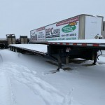 2018 Behnke 53ft Tridem step deck trailer