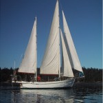 Classic all-teak Colin Archer 53' ketch wooden sailboat