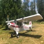 Avion piper super cub pa 18