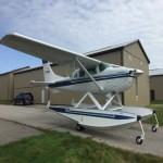 Cessna 206, WipLine 3730 amphibious floats