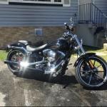 2016 Harley breakout